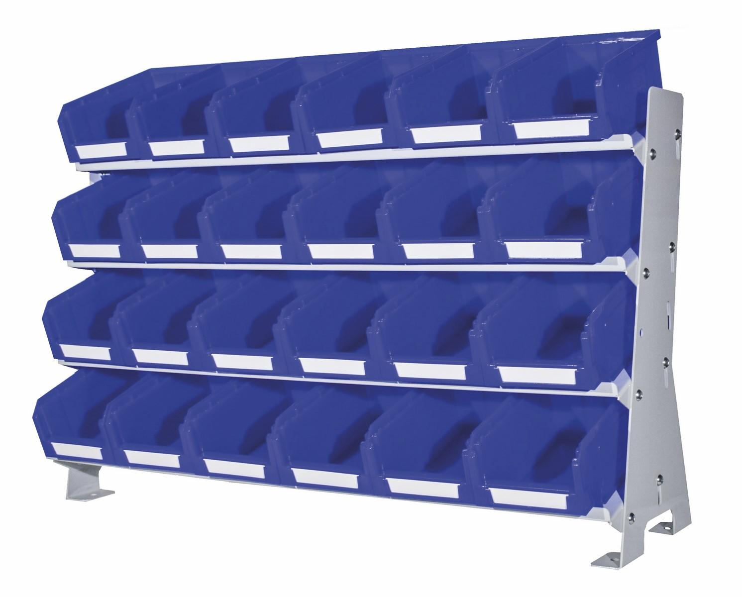 Struttura in acciaio vern. n.4 piani KeyBox