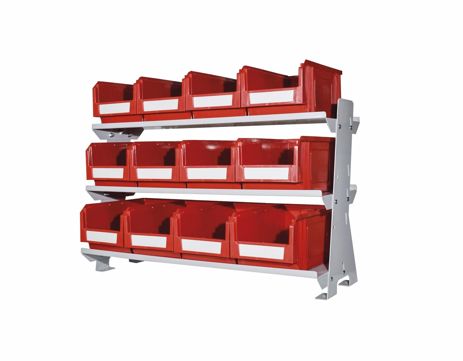 Struttura in acciaio vern. n.3 piani KeyBox