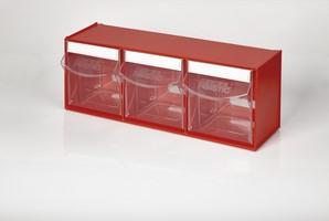 Multibox con 3 cassetti