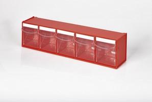 Multibox con 5 cassetti