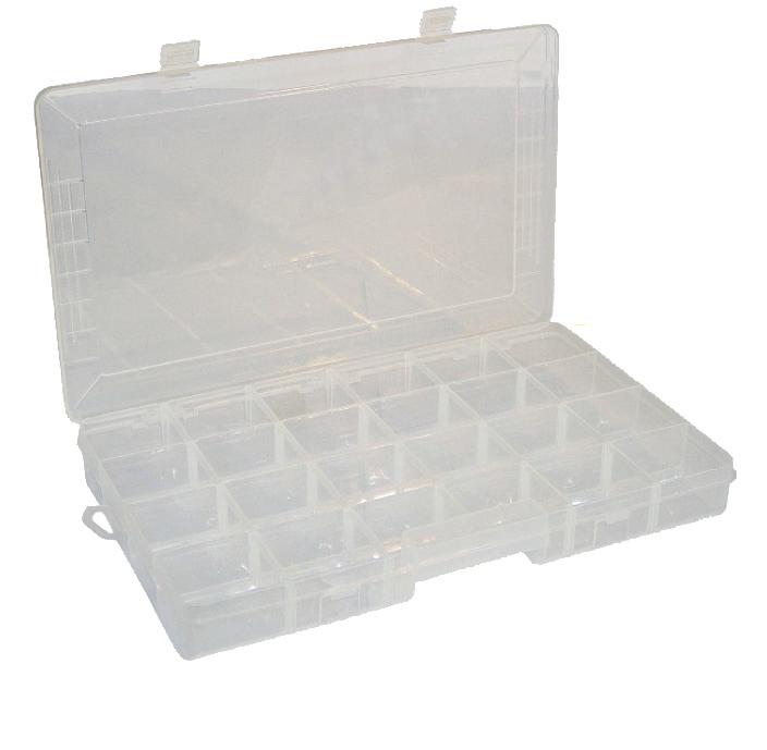 Organizer101 con scomparti removibili cf.20pz